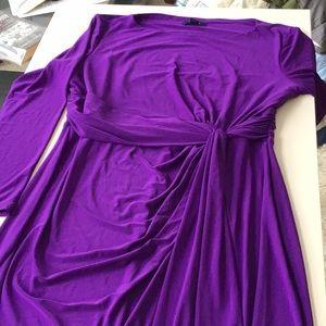 Gorgeous purple dress, XL, Chaps RL